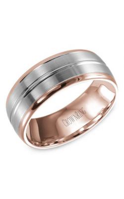 Crown Ring Men's Wedding Band WB-9093WR product image