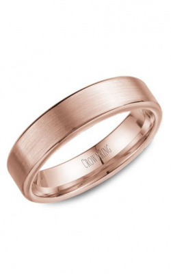 Crown Ring Men's Wedding Band WB-9096R product image