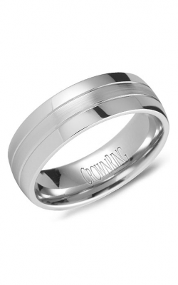 Crown Ring Men's Wedding Band WB-9669 product image