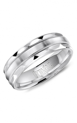CrownRing Carved Wedding Band WB-8056 product image