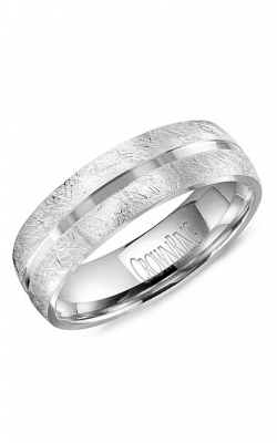 CrownRing Classic And Carved Wedding Band WB-8059 product image