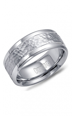 CrownRing Carved Wedding band WB-9622 product image