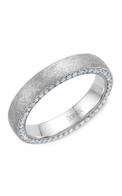 Crown Ring Men's Wedding Band WB-022D4W product image