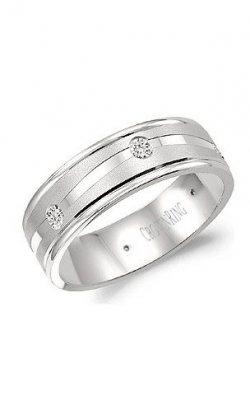 Crown Ring Men's Wedding Band WB-6999 product image