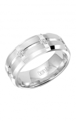 Crown Ring Men's Wedding Band WB-7276 product image