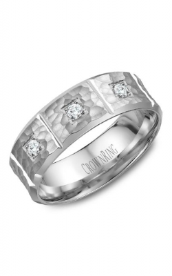CrownRing Diamond Wedding band WB-7968 product image