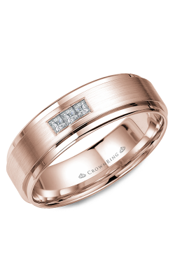 Crown Ring Men's Wedding Band WB-7973 product image
