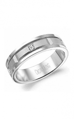 CrownRing Diamond Wedding band WB-8204 product image
