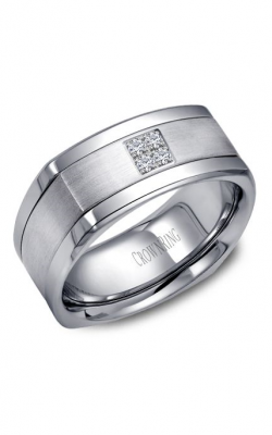 CrownRing Wedding Band Diamond WB-9671 product image