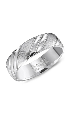 CrownRing Wedding Band Classic And Carved WB-8051 product image