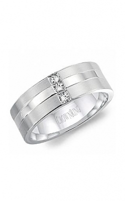CrownRing Wedding Band Diamond WB-8252 product image
