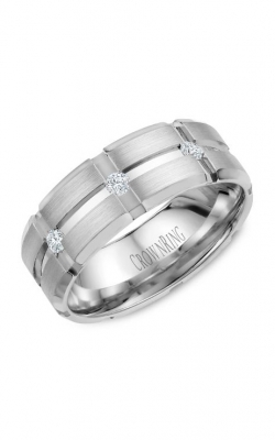 CrownRing Diamond Wedding Band WB-9114 product image