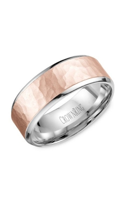 CrownRing Carved Wedding Band WB-9968RW product image