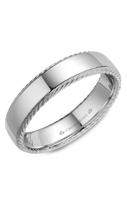 CrownRing Rope wedding band WB-007R6W product image