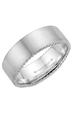 CrownRing Rope Wedding band WB-009R8W product image