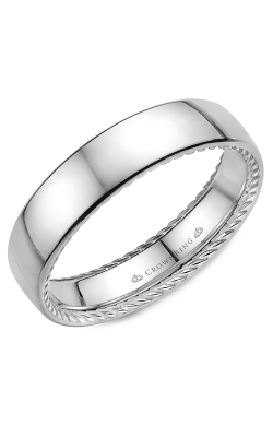 CrownRing Wedding Band Rope WB-012R6W product image