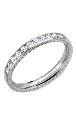 CrownRing Wedding Band Rope WB-018RD3W product image