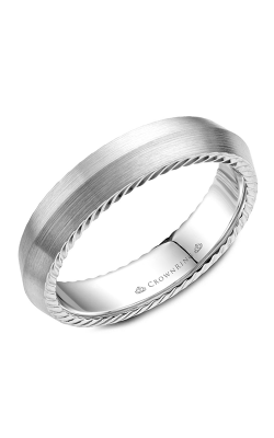 CrownRing Wedding Band Rope WB-056R5W product image