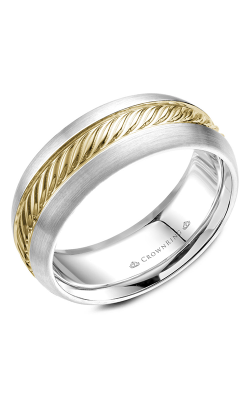 CrownRing Wedding Band Rope WB-060R8YW product image