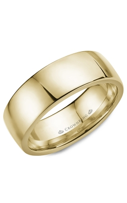 CrownRing Wedding Band Classic And Carved WB-053C8Y product image