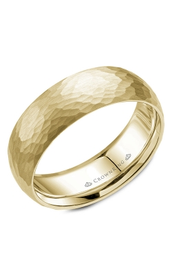 CrownRing Classic and Carved Wedding band WB-059C7Y product image