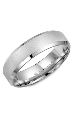 CrownRing Wedding Band Classic And Carved WB-7007SB product image