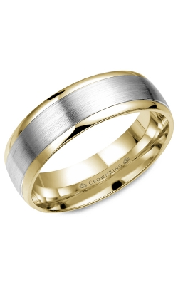 CrownRing Wedding Band Classic And Carved WB-7153 product image