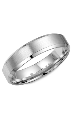 CrownRing Wedding Band Classic And Carved WB-7216 product image