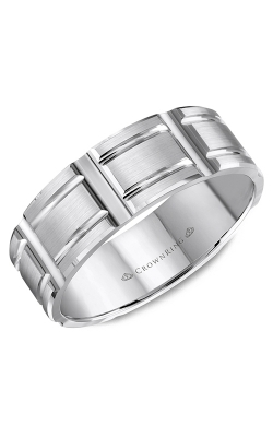 CrownRing Wedding Band Classic And Carved WB-8048 product image