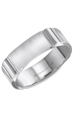 CrownRing Wedding Band Classic And Carved WB-8055 product image