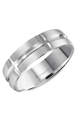 CrownRing Wedding Band Classic And Carved WB-8060 product image