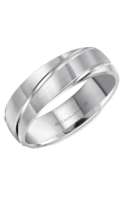 CrownRing Wedding Band Classic And Carved WB-8063 product image