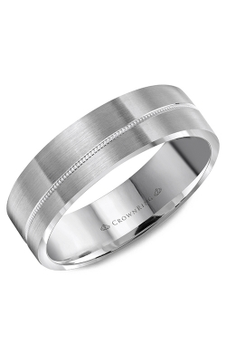 CrownRing Wedding Band Classic And Carved WB-8065 product image
