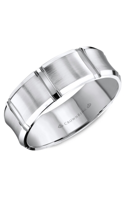 CrownRing Wedding Band Classic And Carved WB-8086 product image