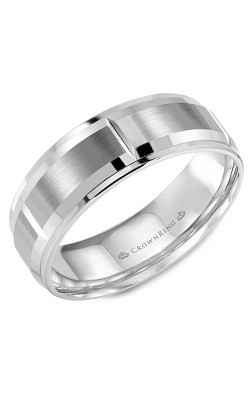 CrownRing Classic and Carved Wedding band WB-9402 product image