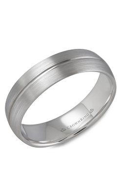 CrownRing Wedding Band Classic And Carved WB-9509 product image