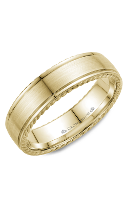 CrownRing Rope Wedding band WB-005R6Y product image