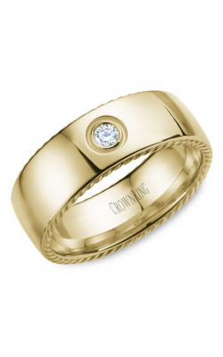 CrownRing Rope Wedding Band WB-016RD8Y product image