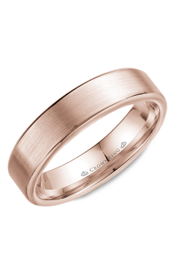 CrownRing Classic and Carved Wedding Band WB-9096R product image