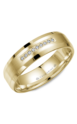 CrownRing Diamond Wedding Band WB-9612Y product image