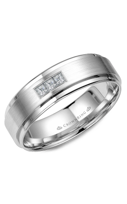 CrownRing Diamond Wedding Band WB-7973W product image