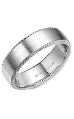 CrownRing Wedding Band Rope WB-007R7SPW product image