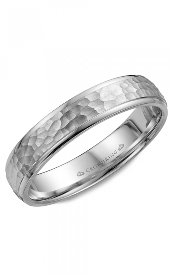 CrownRing Classic and Carved Wedding band WB-7930 product image