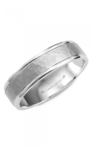 CrownRing Classic and Carved Wedding band WB-8140 product image