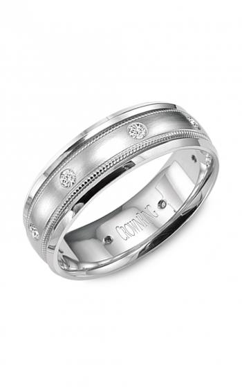 CrownRing Diamond Wedding band WB-9025 product image