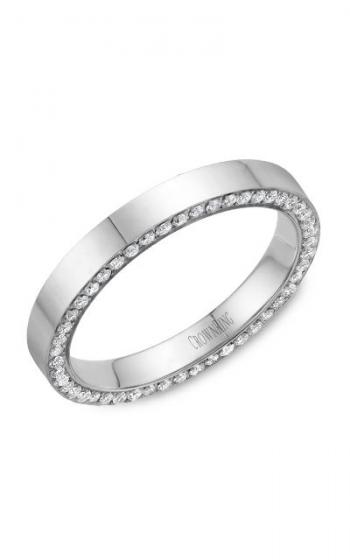 CrownRing Diamond Wedding band WB-033D3W product image