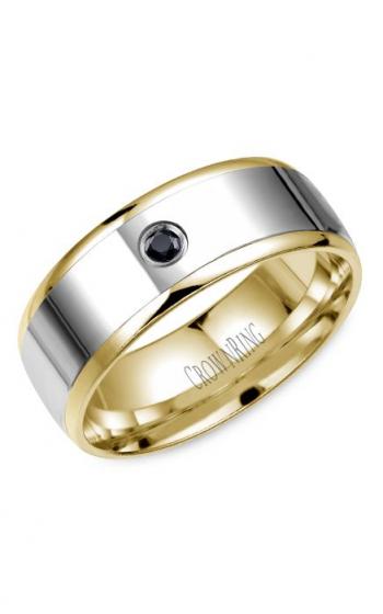 CrownRing Diamond Wedding band WB-7972 product image