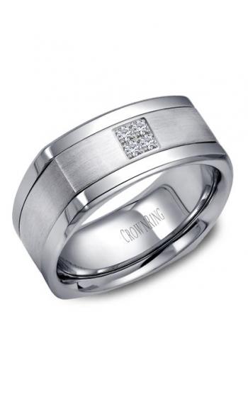 CrownRing Diamond Wedding band WB-9671 product image