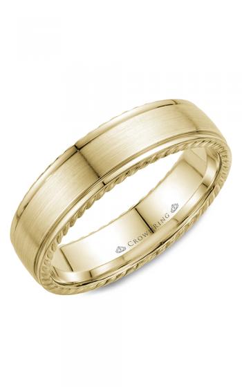 CrownRing Rope Wedding band WB-005R6Y product image