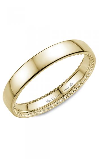 CrownRing Rope Wedding band WB-012R35Y product image